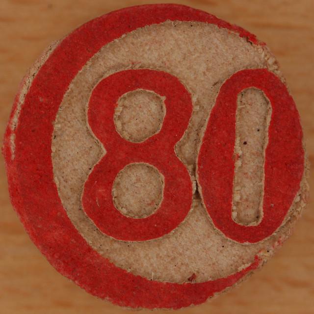 Bingo Number 80