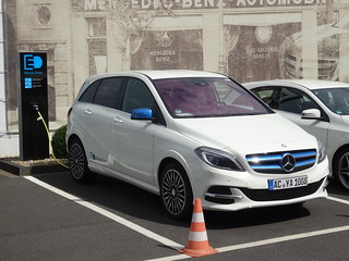 Mercedes Benz B Klasse Electric Drive The B Klasse Electri Flickr