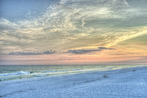 sunset gulfofmexico clouds waves hdr waltoncounty duneallenbeach sonya7ii floridahighway30a