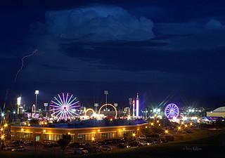 These Are The Moments - Lightning Strike Thunder Storm Salem Fair Va