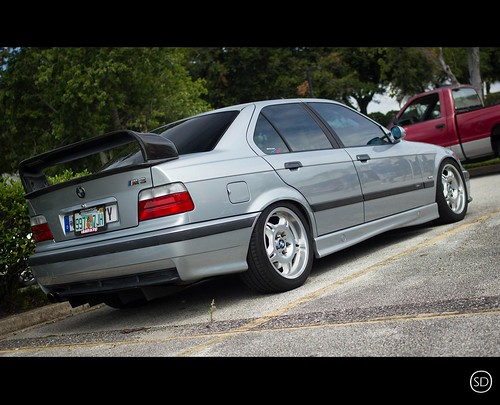 Silver E36 M3 Sedan @ Cars & Coffee Meet | by TOG LIFE