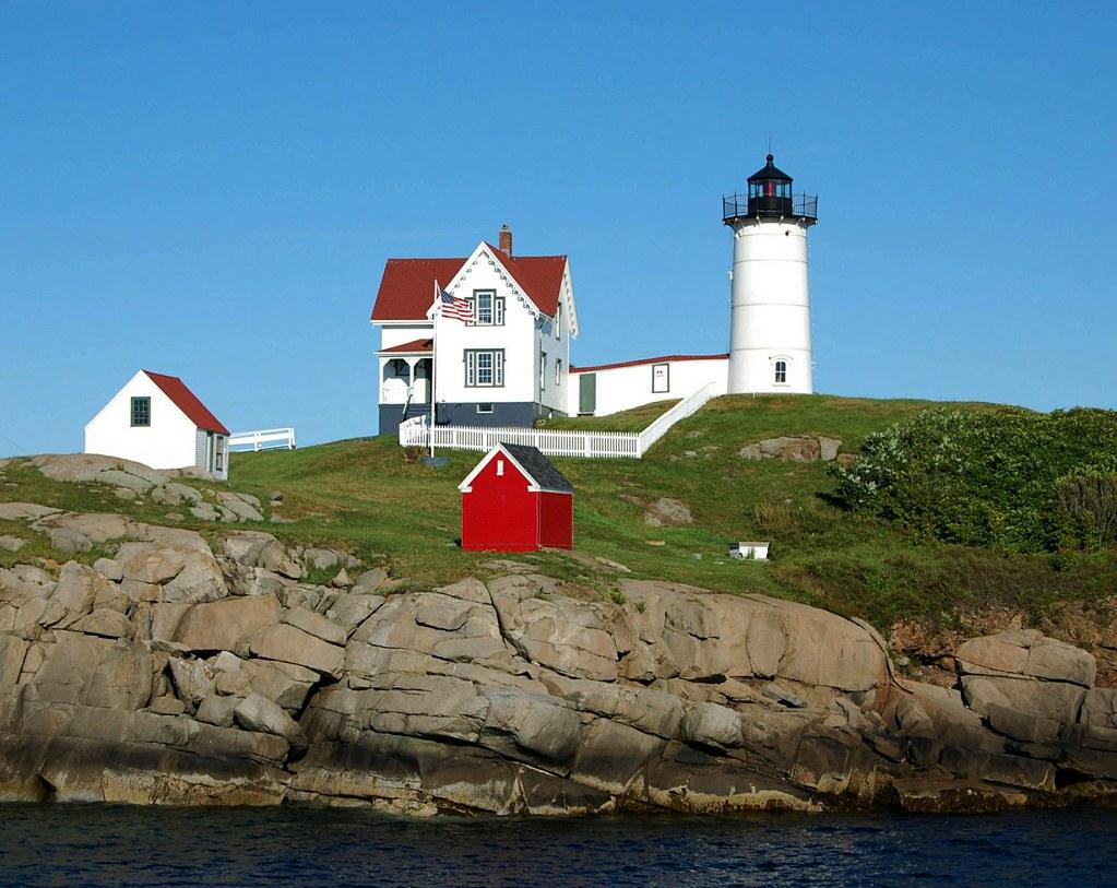 Nubble Lighthouse Cape Neddick Light York Beach Maine
