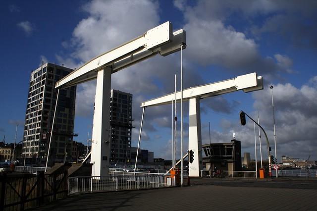 Pont à bascule d'Anvers en 2008