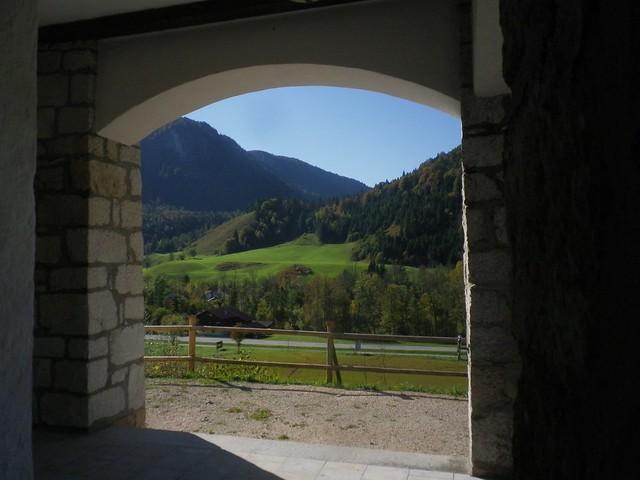 rausgeschaugt Kapelle Weißbach Obb
