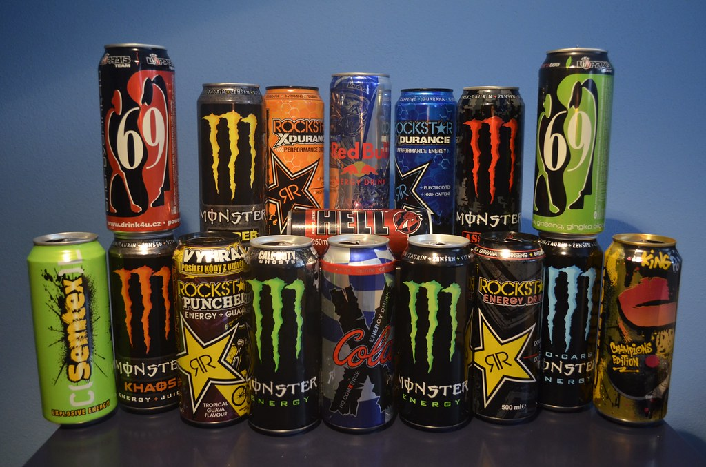 Energy drinks | Daniel Juřena | Flickr