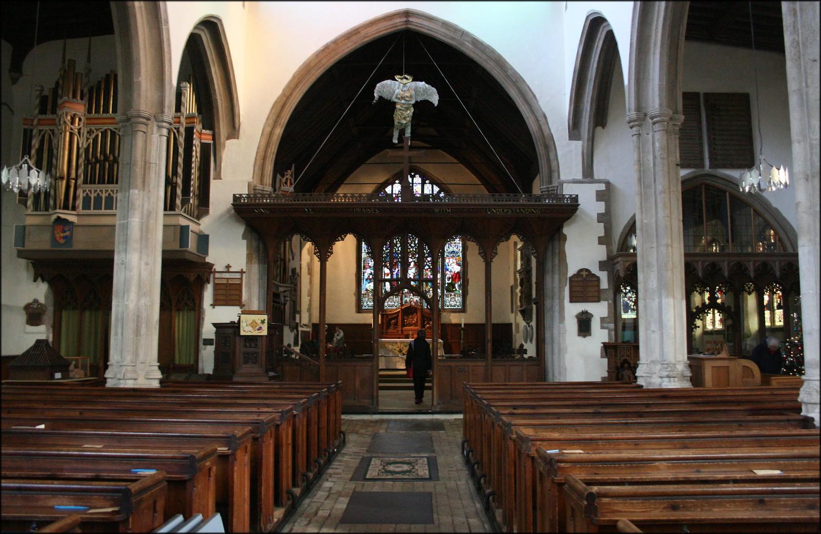 East Bergholt Church