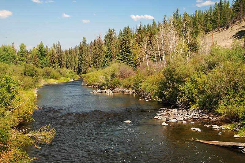 Chilcotin River near Chilanko Forks, Chilcotin Plateau, Chilcotin, British Columbia, Canada