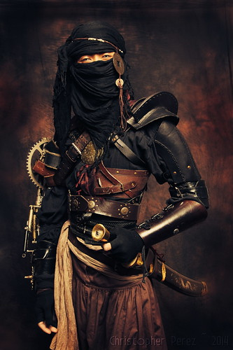 Ninja ~ out of the Age of Steam | by Christopher Mark Perez