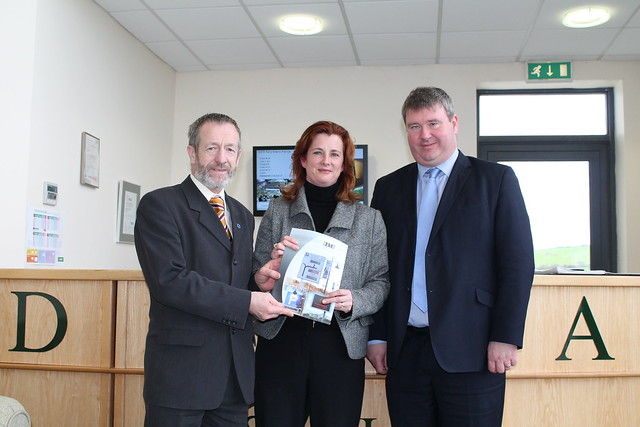 Data Display Ennistymon with Senator Martin Conway