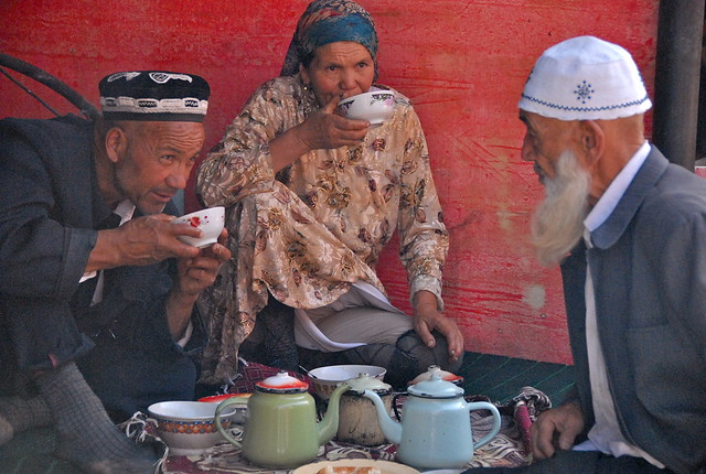 China-Xinjiang-Kashgar market-Uyguri people