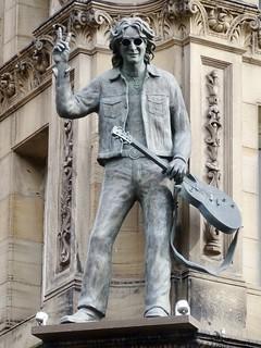 John Lennon Sculpture At The Hard Days Night Hotel Liverpool