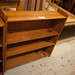 Pine open book shelf €35