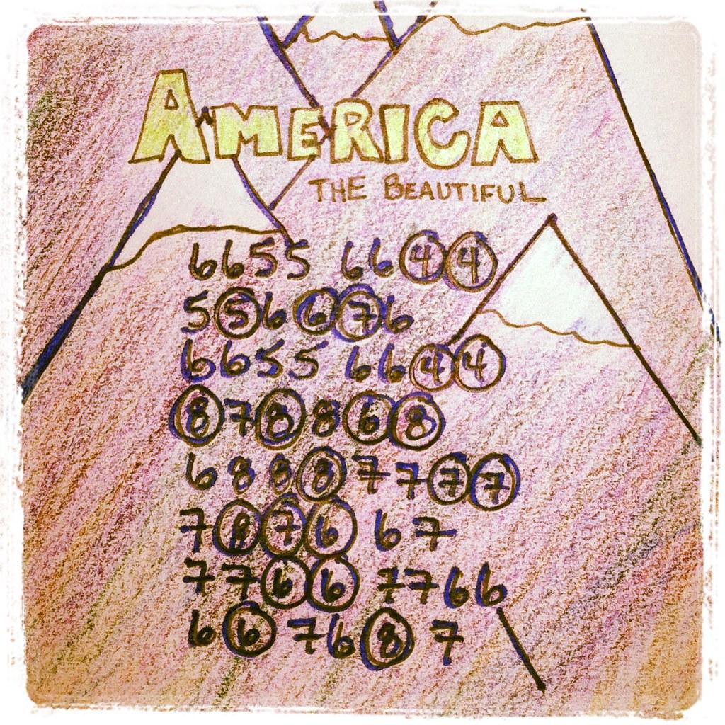 America the Beautiful Harmonica Tabs | Moose Tyler | Flickr