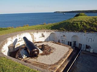 Bare Island gun