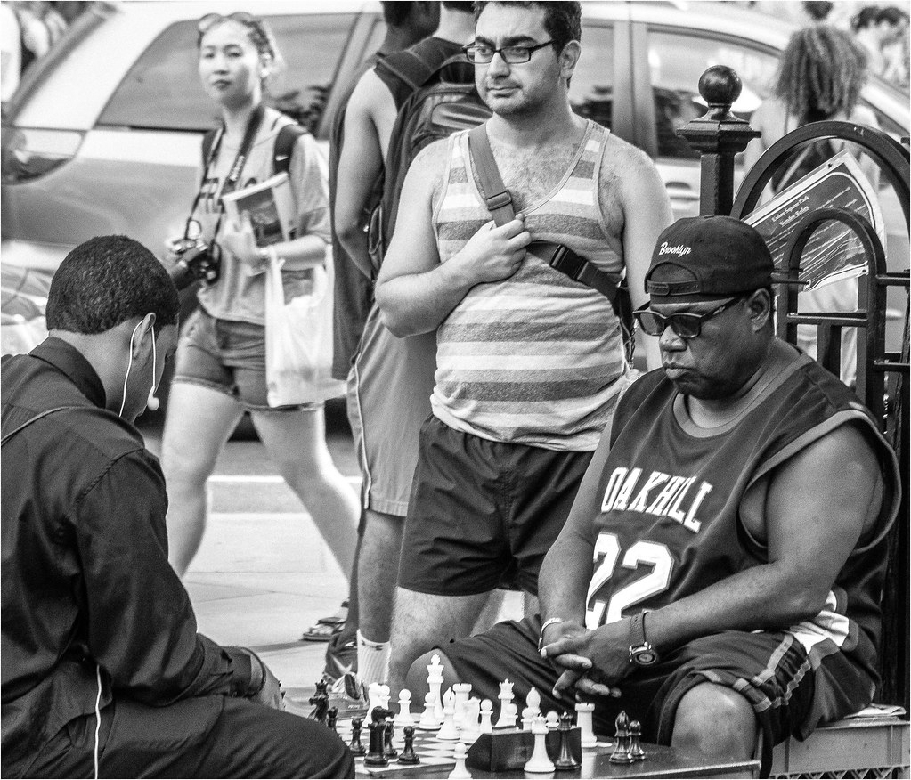 NYC Union Square Chess Players | Bob Jagendorf | Flickr