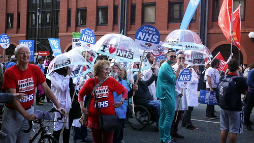 TUC Save our NHS rally Manchester 29.09.2013 | by sheilabythesea