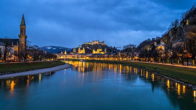 Salzburg bei Nacht I