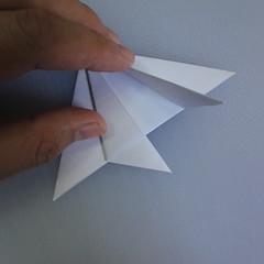 วิธีพับกระดาษเป็นรูปดอกลิลลี่ 007