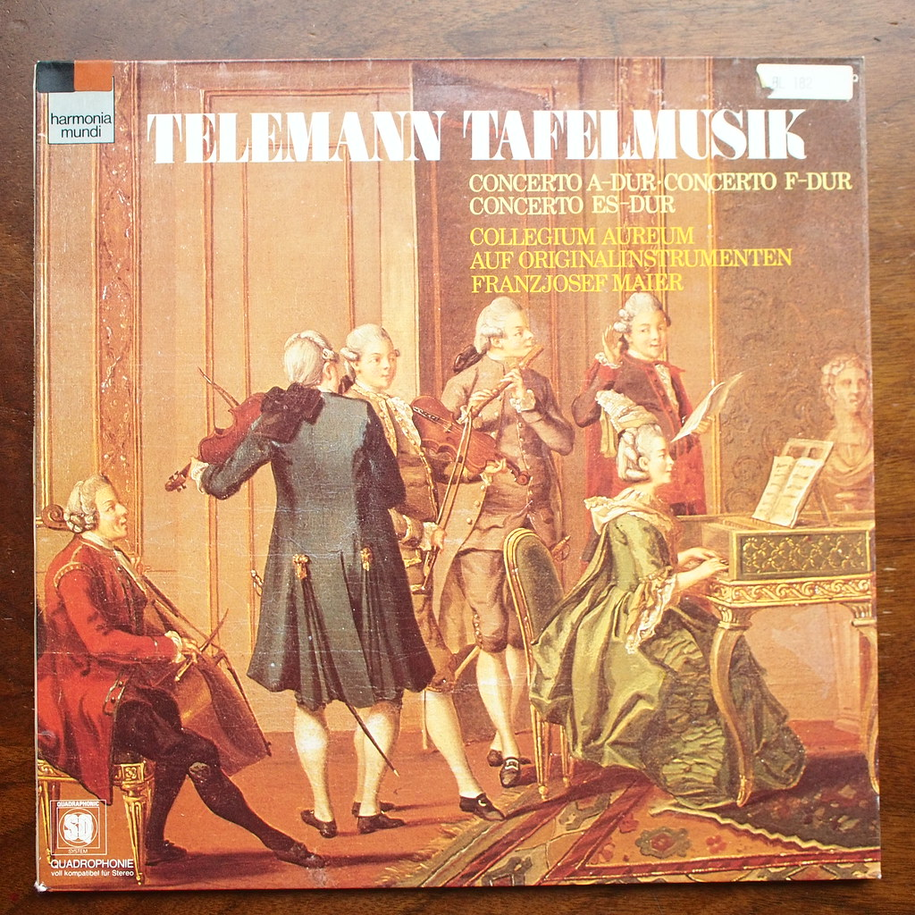Telemann Tafelmusik
