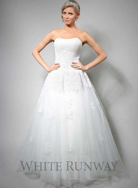 Rella cinderella white gown bridal dress flickr photo for White cinderella wedding dress