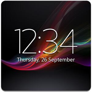 Digital Clock Widget Xperia Premium v3 4 | Download Free Ful