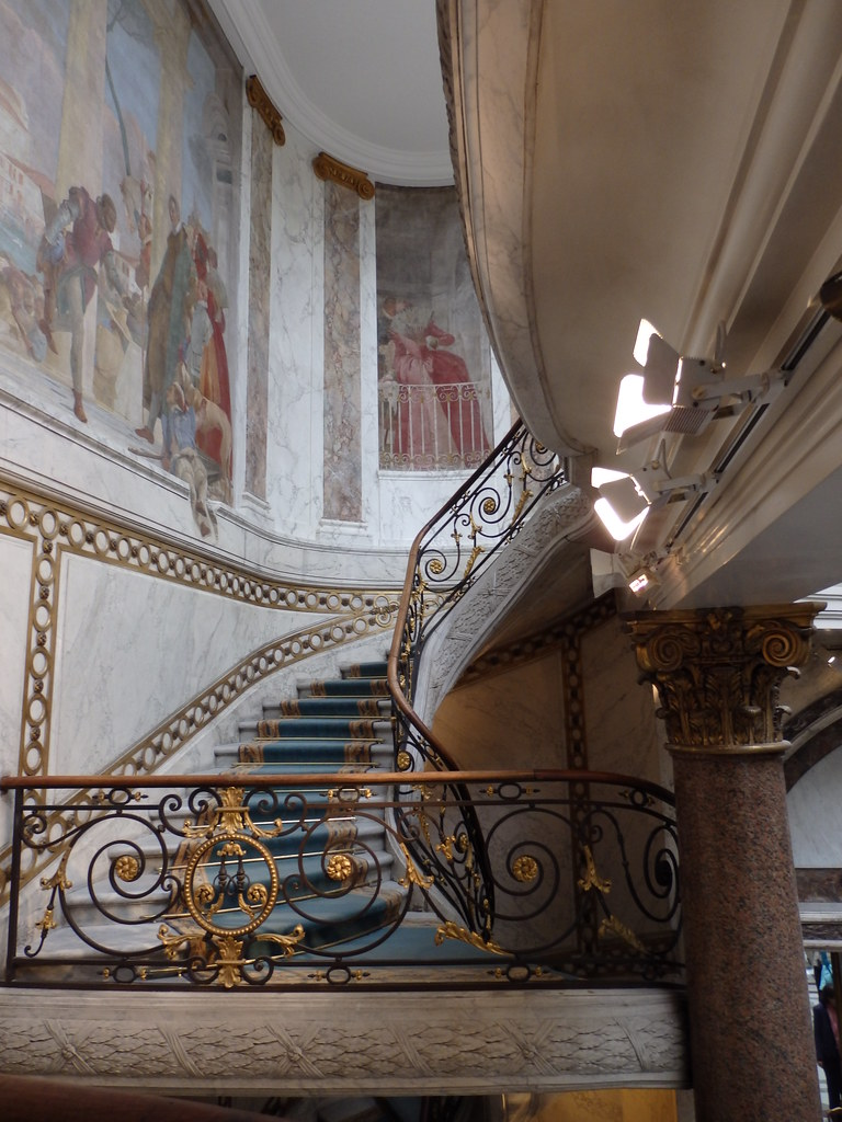 Stairway of the Musee Jacquemart-Andre