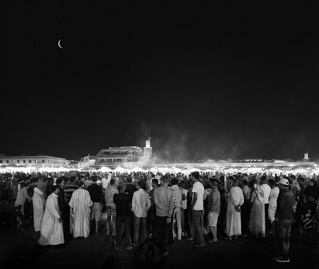 Storytellers at the Medina