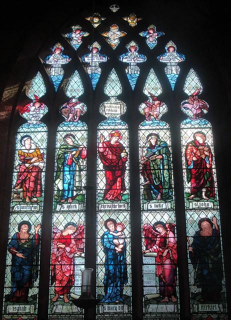 [15449] St Edward, Leek : Condlyffe Window