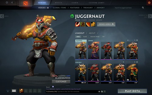 Juggernaut Bladesrunner | by buttonMasher