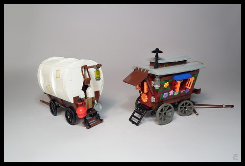 Gypsy wagons (Europe, XIX-XX c.)