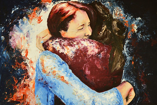 Embrace by Eleanor Thompson (Acrylic on board) | by St. Mary's Menston