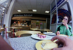 lunch break #cycling #fisheye