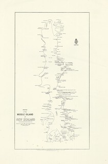 New Zealand Maori Map.Maori Map Of The Middle South Island And Stewart Island Flickr