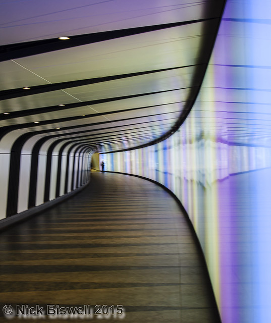 Photo24 2015 - Kings Cross St Pancras Light Tunnel