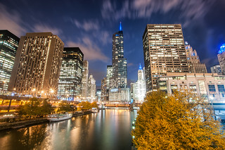 Chicago River Skyline | by ShutterRunner