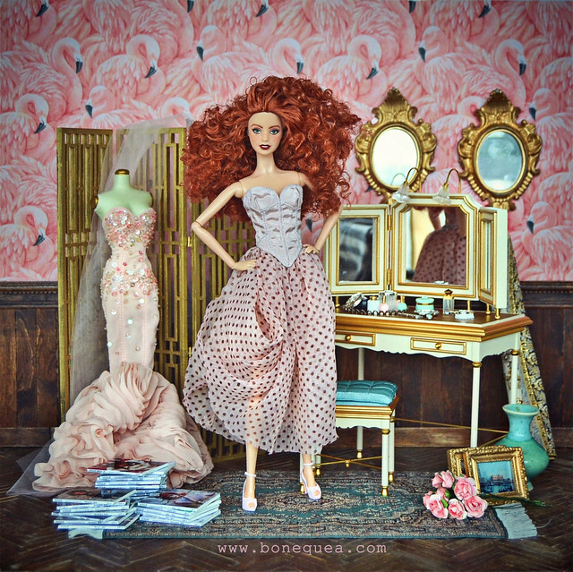 Ooak Barbie City Shine