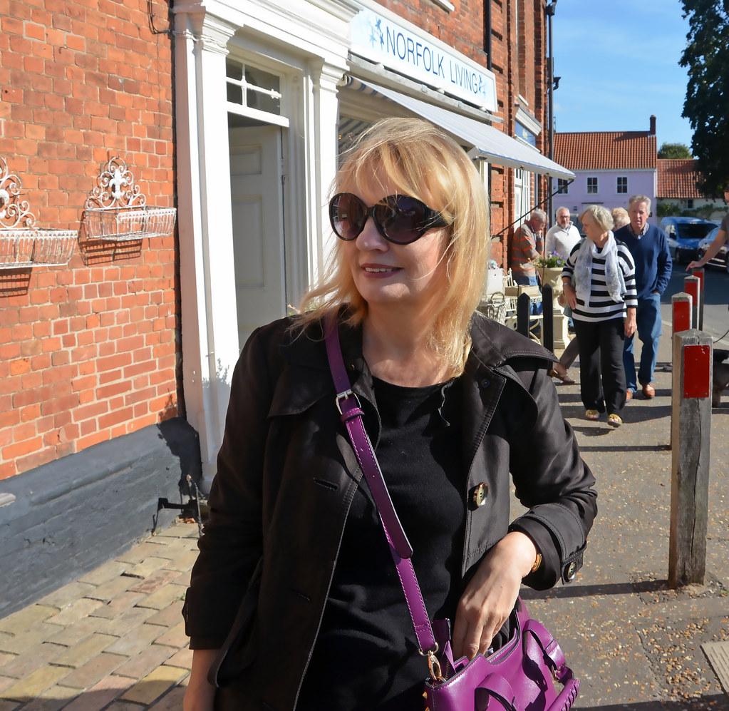 Judy in Burnham Market