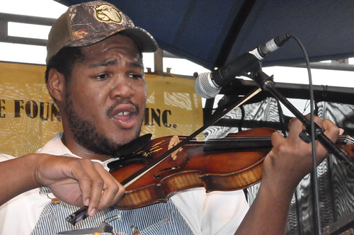 Blind Boy Paxton at Crescent City Blues & BBQ Fest. Photo by Kichea S Burt.