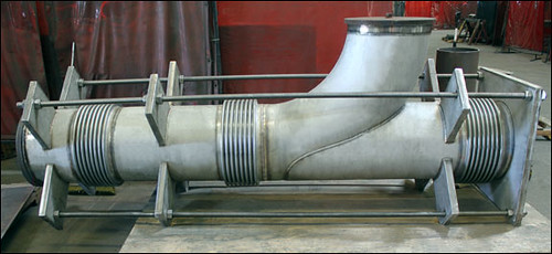 Elbow Pressure Balanced Expansion Joint Designed for a Chemical Processing Plant
