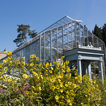The green house at Wave Hill