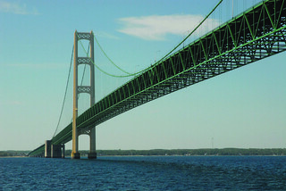 Mackinac Bridge | by Mary McGuire | Mackinac Design
