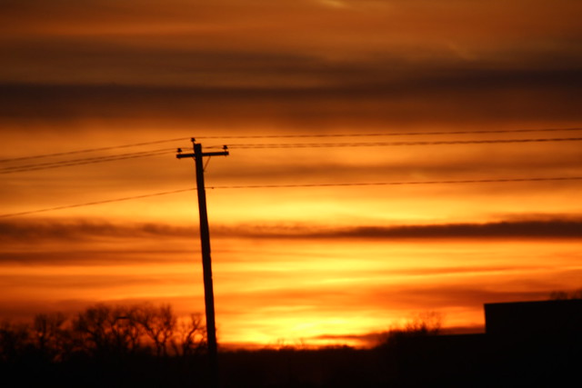 010714 - Nebraska Winter Sunset