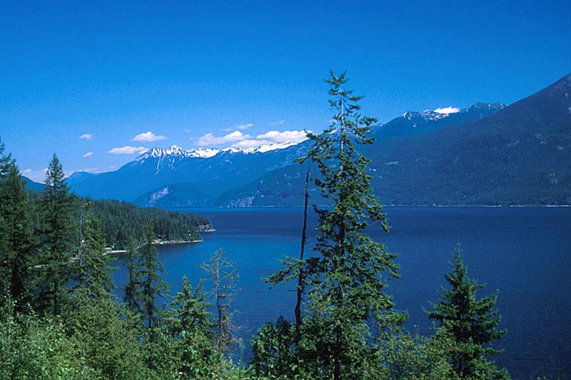 Kaslo, Kootenay Lake, Kootenay Rockies, British Columbia, Canada