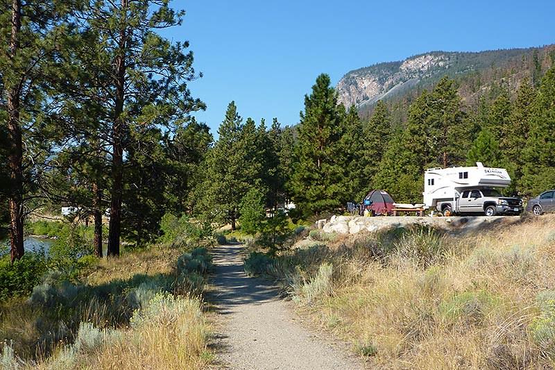 Camping in the Okanagan, Shuswap and Similkameen – British Columbia