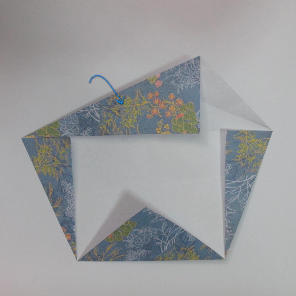 วิธีการพับกระดาษเป็นรูปม้า (Origami Horse) 015