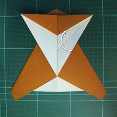 วิธีการพับกระดาษเป็นรูปกบ (แบบโคลัมเบี้ยน) (Origami Frog) 023