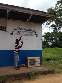 GTF radio station partner in Sierra Leone   by iMedia Associates