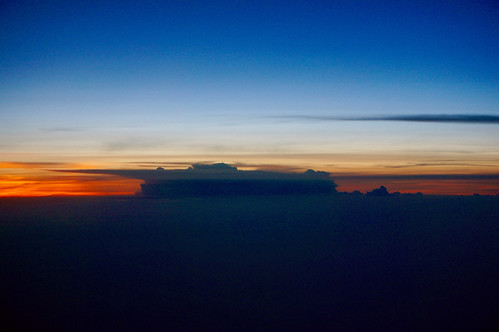 sunset cloud airplane thunderstorm airplanewindow windowseat pw abovetheclouds anvilcloud upinthesky
