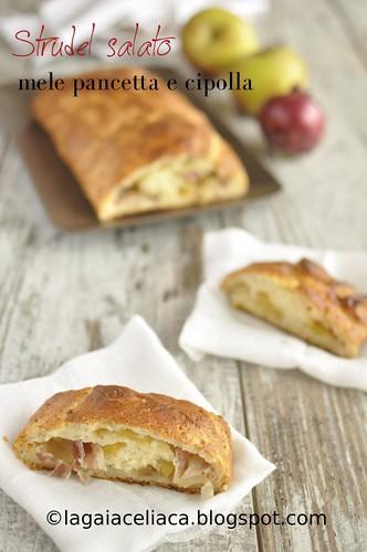 Strudel salato con mele, cipolle e pancetta   by mammadaia