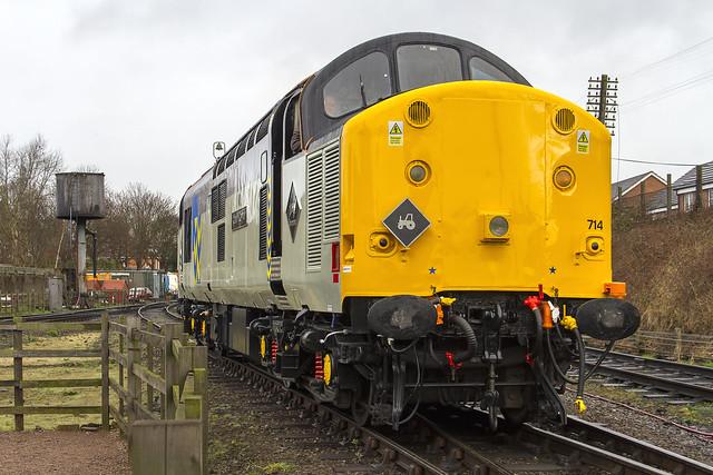 Class 37 No. 37714 'Cardiff Canton'